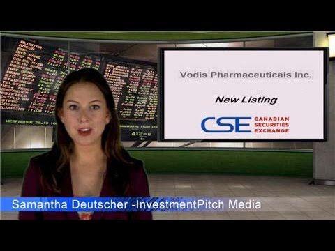 Vodis Pharmaceuticals Inc - New CSE Listing